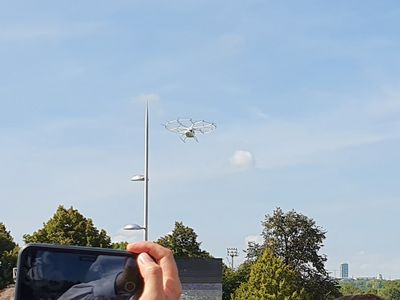 Volocopter im Test